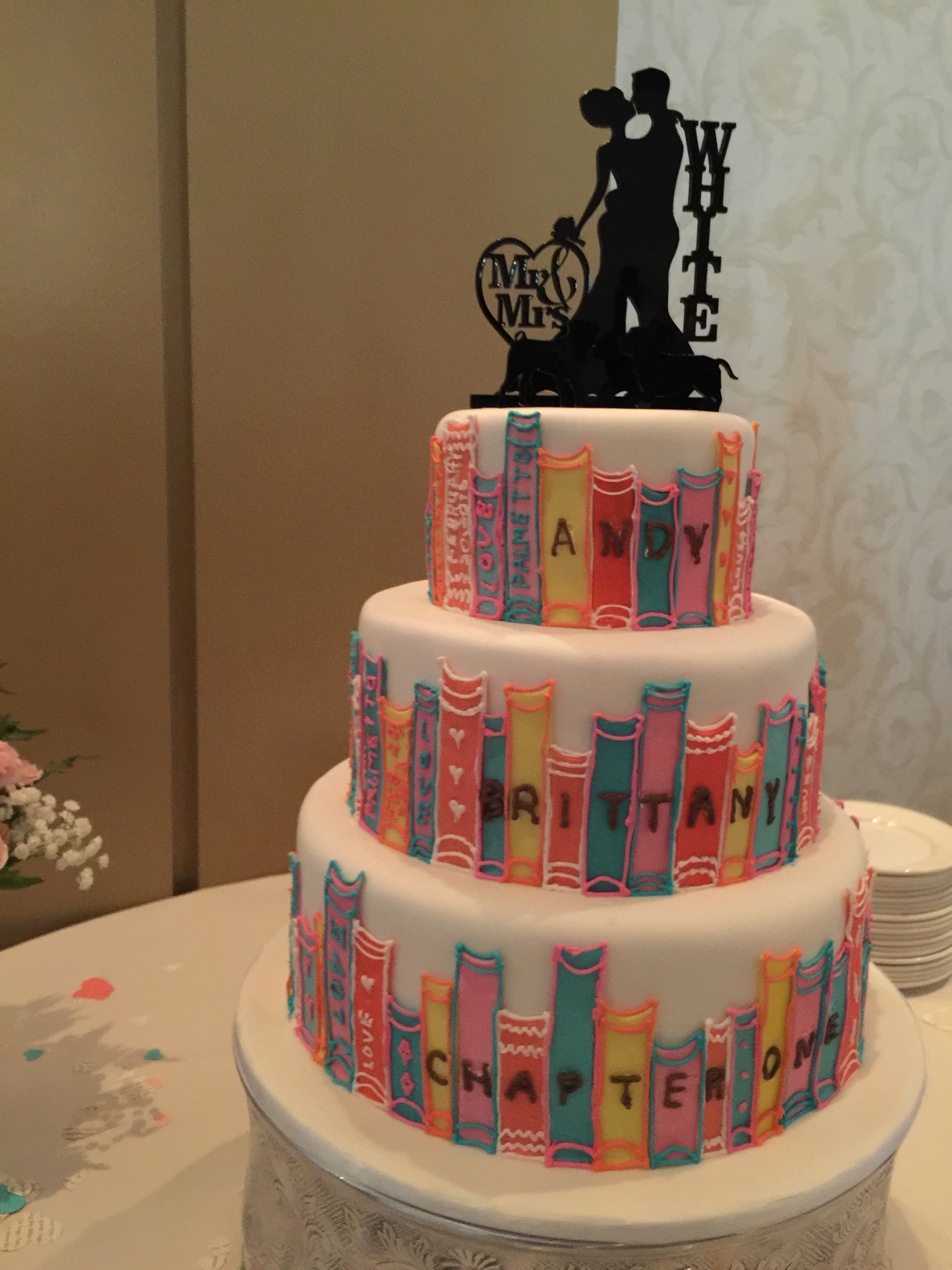 book wedding cake february 2016 today s worry 12094